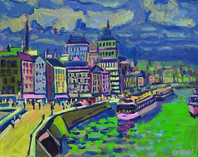 Seaport Art Print by Brian Simons