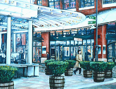 Wall Art - Painting - Seaport Excursions by Gaye Elise Beda