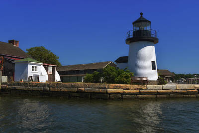 Photograph - Seaport Light by Mike Martin
