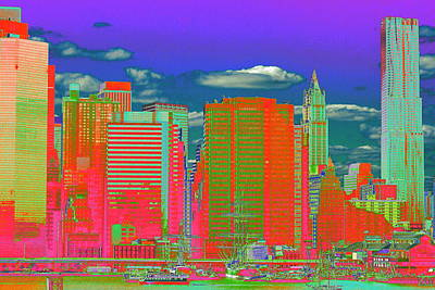 Photograph - Seaport Psychedelia by Christopher Kirby