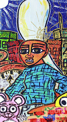 Painting - Searching... Hire Self by Odalo Wasikhongo