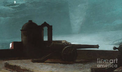 Painting - Searchlight On Harbor Entrance, Santiago De Cuba, 1901 by Winslow Homer