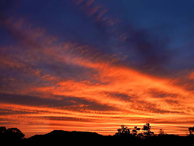 Photograph - Searing Sunrise by Mark Blauhoefer