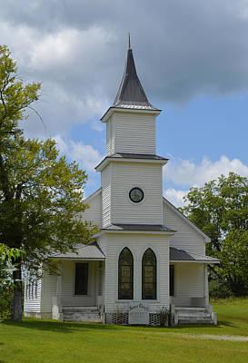 Photograph - Sears Chapel Methodist Church by rd Erickson