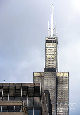 Photograph - Sears Tower Chicago by John Rizzuto
