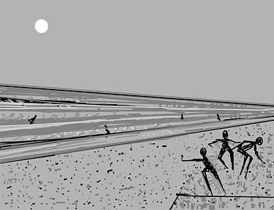 Digital Art - Seascape-1 by Anand Swaroop Manchiraju