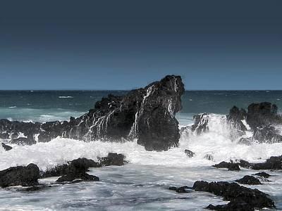 Digital Art - Seascape 4 by Michaelalonzo Kominsky