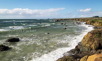 Photograph - Seascape  8b5308 by Stephen Parker
