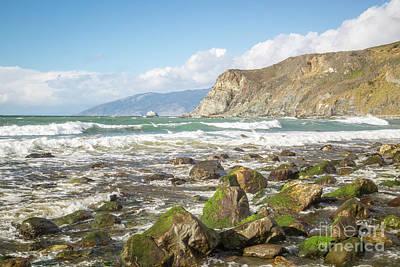 Photograph - Seascape  8b5317 by Stephen Parker