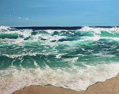 Painting - Seascape by Analisa Chase
