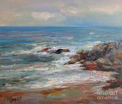 Painting - Seascape  by Angelina Nedin