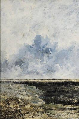 August Strindberg Painting - Seascape by August Strindberg