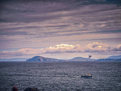 Photograph - Seascape Blasket Island. by Leif Sohlman