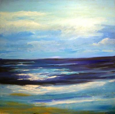 Painting - Seascape by Bryan Bustard