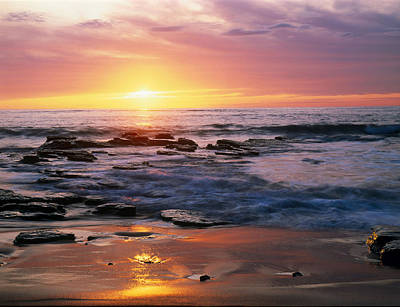 Seascape Ca Usa Art Print