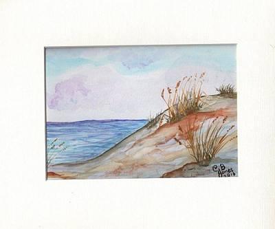 Painting - Seascape by Chris Bajon Jones