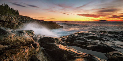 Photograph - Seascape by Darylann Leonard Photography