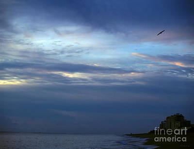 Photograph - Seascape Dawn Morning Splendor At Vero Beach Fl B3 by Ricardos Creations