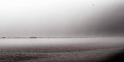Bay St. Louis Ms Wall Art - Photograph - Seascape Gulf Coast H10f by Otri Park