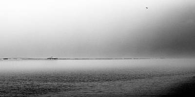 Bay St. Louis Ms Wall Art - Photograph - Seascape Gulf Coast H10h by Otri Park