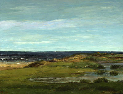Gustave Courbet Painting - Seascape by Gustave Courbet