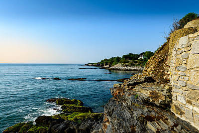 Nature Landscape Photograph - Seascape Home by Michael Scott