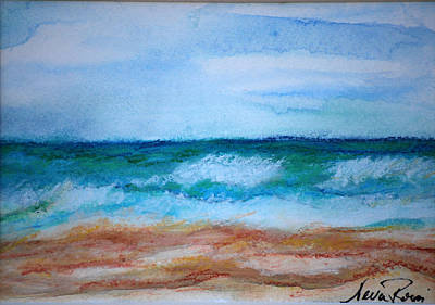 Seascape I Print by Neva Rossi