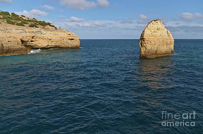 Photograph - Seascape In Carvalho Beach. Algarve by Angelo DeVal