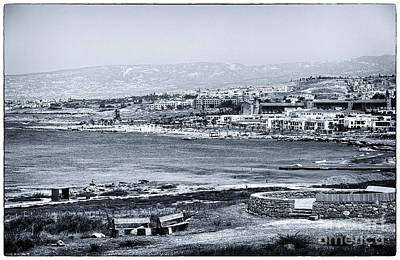 Photograph - Seascape In Paphos by John Rizzuto