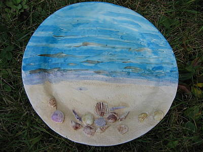 Seascape Print by Julia Van Dine