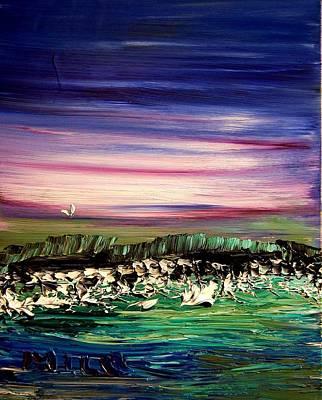Seascape Art Print by Mark Kazav