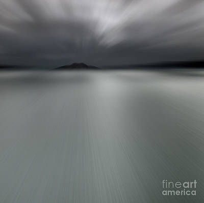 Art Print featuring the photograph Seascape Mono by Craig B
