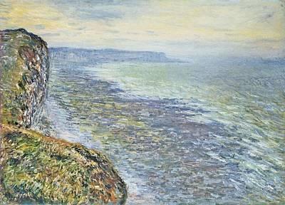 Fecamp Painting - Seascape Near Fecamp by Claude Monet