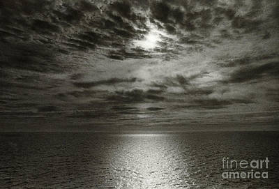 Photograph - Seascape, North Carolina by Simon Marsden