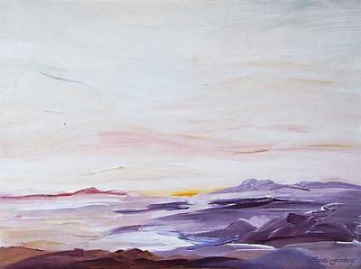 Seascape Nr 1 Art Print by Carola Ann-Margret Forsberg