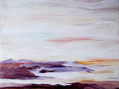 Seascape Nr 2 Art Print by Carola Ann-Margret Forsberg
