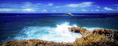 Photograph - Seascape - Oahu, Hawaii by D Davila