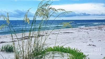 Photograph - Seascape Serenity by Rachel Hannah