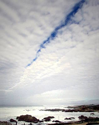 Photograph - Seascape Skyscape Two by Joyce Dickens