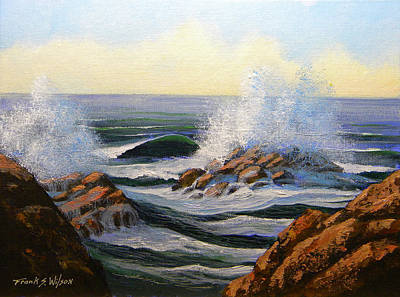 Painting - Seascape Study 1 by Frank Wilson