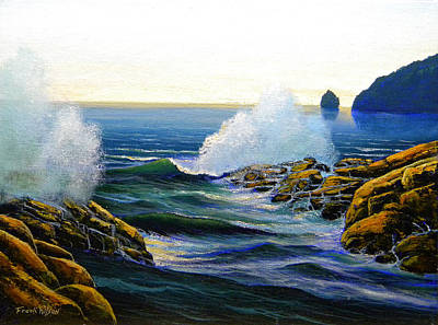 Painting - Seascape Study 3 by Frank Wilson