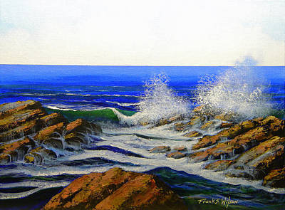 Painting - Seascape Study 4 by Frank Wilson