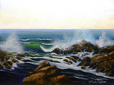 Painting - Seascape Study 5 by Frank Wilson