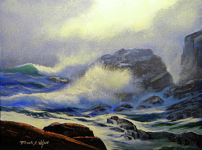 Painting - Seascape Study 8 by Frank Wilson