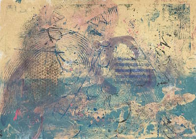 Mixed Media - Seascape by Susan Richards