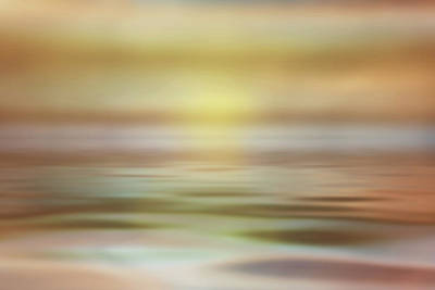 Seascape Art Print by Tom Mc Nemar