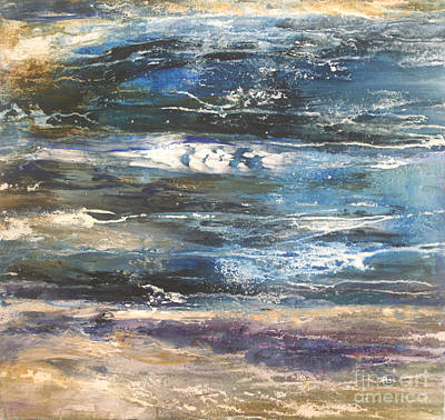 Painting - Seascape by Valerie Travers
