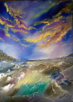 Painting - Seascape#1 by Raymond Doward