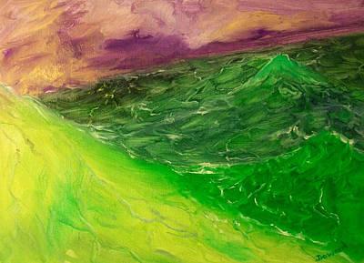 Painting - Seascape#3 by Raymond Doward