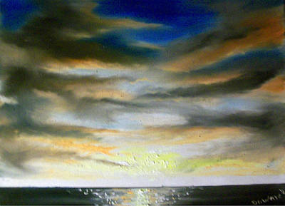 Painting - Seascape#4 by Raymond Doward